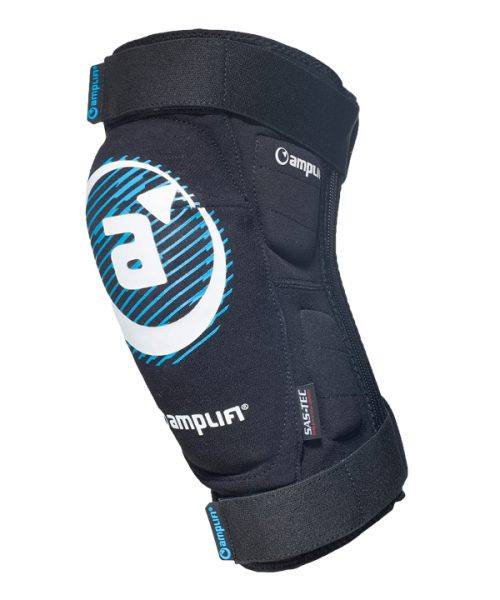 Amplifi Polymer MTB Knee guard zip front